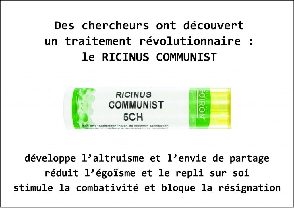 Ricinus communist