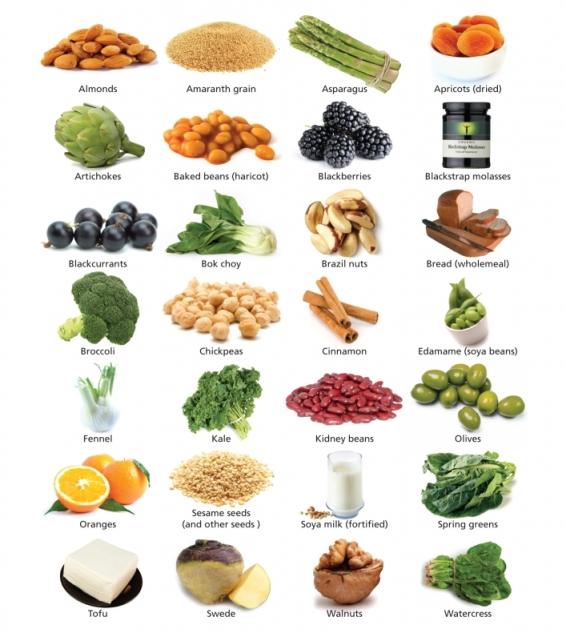 Calcium végétal